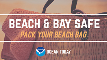 cean Today host Symone Barkley and ocean safety expert Bruckner Chase offer tips for what to take to the beach to help you stay safe and have fun...in the surf and sun.