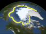 Happening Now: Arctic Sea Ice Sets Record Low still shot