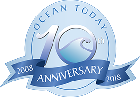 10th anniversary ocean today logo