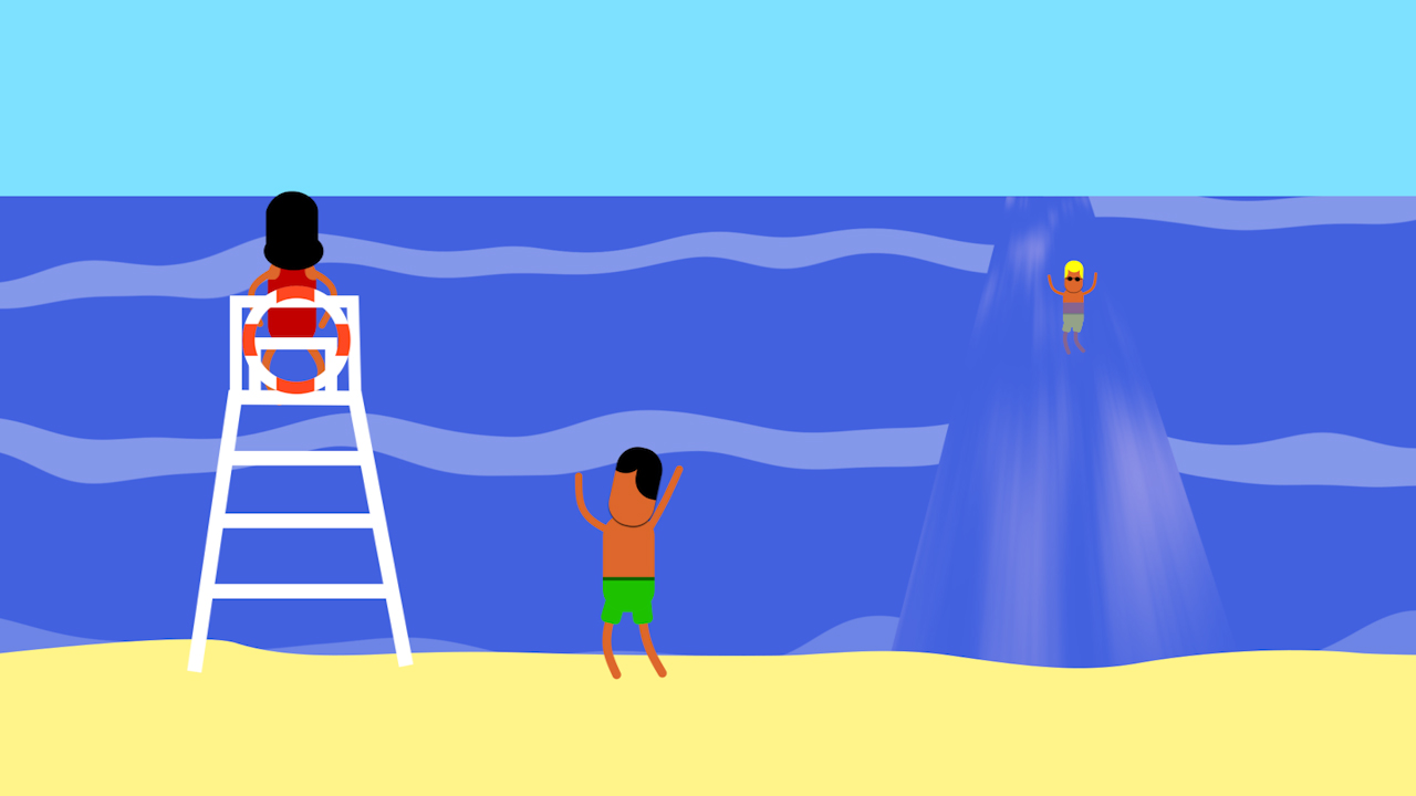 rip current safety for kids every full moon ocean today