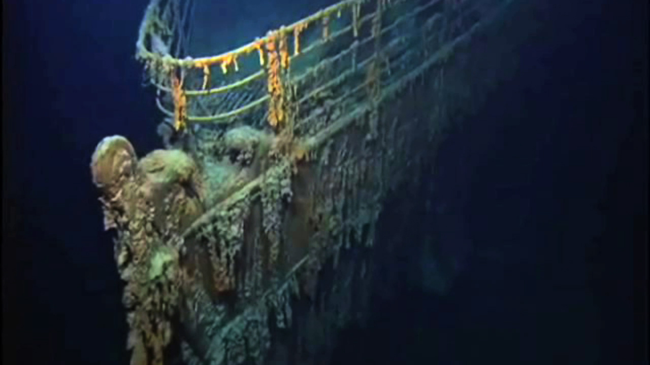 real underwater titanic pictures. Real Underwater Titanic Pictures B