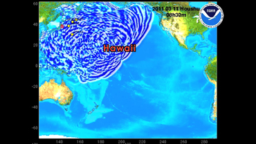 tsunami strike propagation